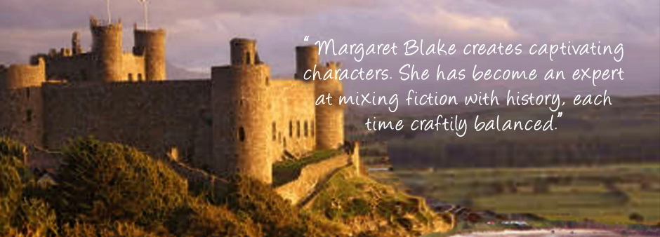Historical Romance novels by Margaret Blake