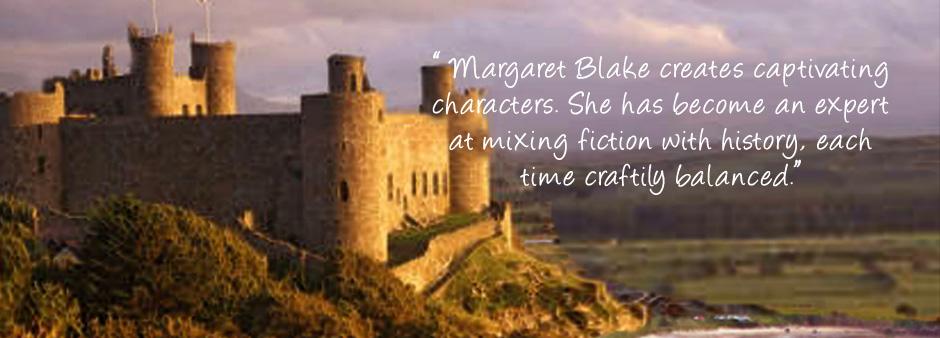 Historical Romance novels by Margaret Blake